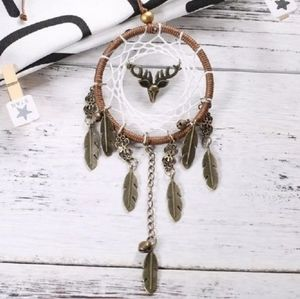 """""""Friend Of The Forest"""" boho dreamcatcher"""